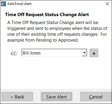 Email Alerts - Time Clock MTS Documentation