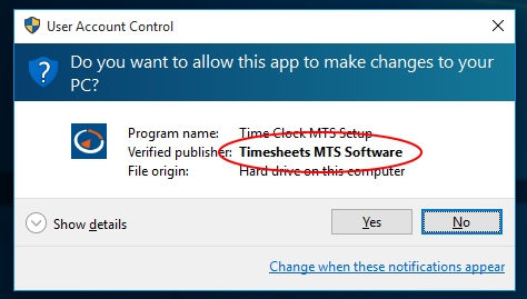 Time clock mts activation code