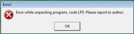 Code LP5 Error