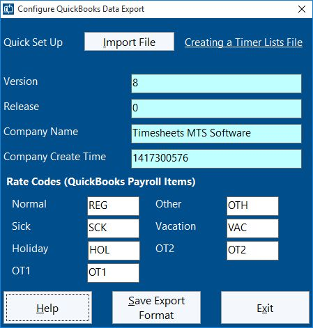 Timer Lists File Imported Successfully