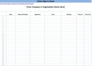 Printable sign in sheet templates visitor sign in form maxwellsz
