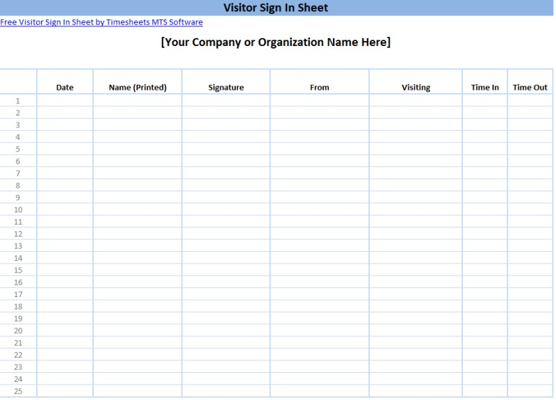 school sign in sheet template .